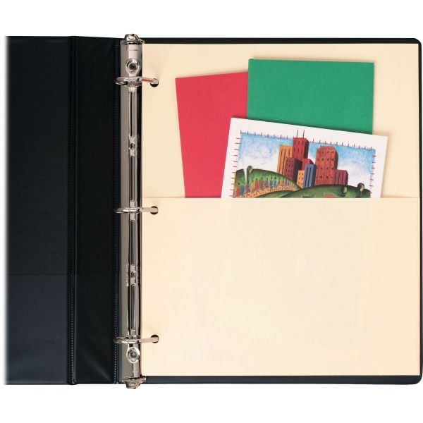 Untabbed Double Pocket Manila Dividers 5//Pack 11 x 9 Sold as 1 Pack