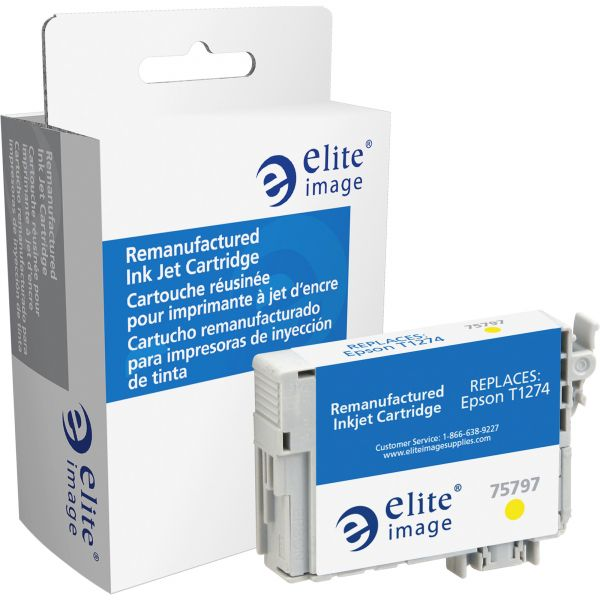 Elite Image Remanufactured Epson T1274 Ink Cartridge