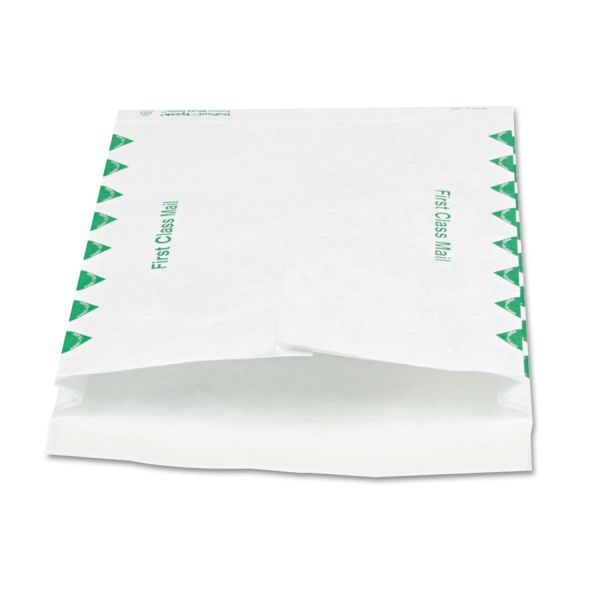 "Quality Park 10"" x 13"" First Class Tyvek Expansion Envelopes"