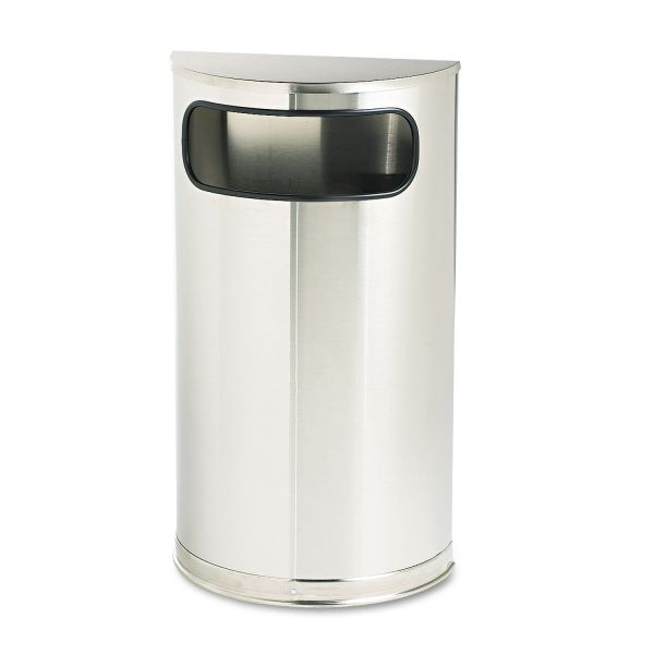 United Half Round 9 Gallon Trash Can