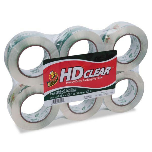 """Duck HD Clear Heavy Duty 2"""" Packaging Tape"""