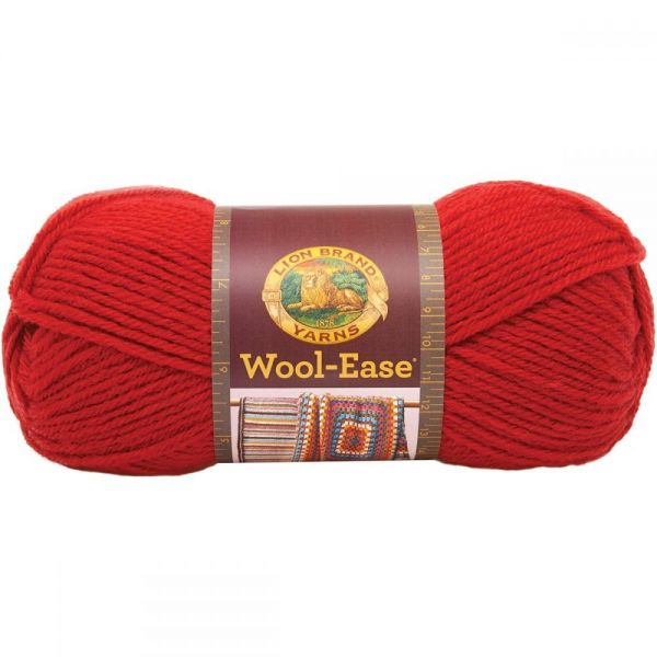 Lion Brand Wool-Ease Yarn - Ranch Red