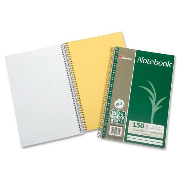 SKILCRAFT 3-Subject Wirebound Notebooks