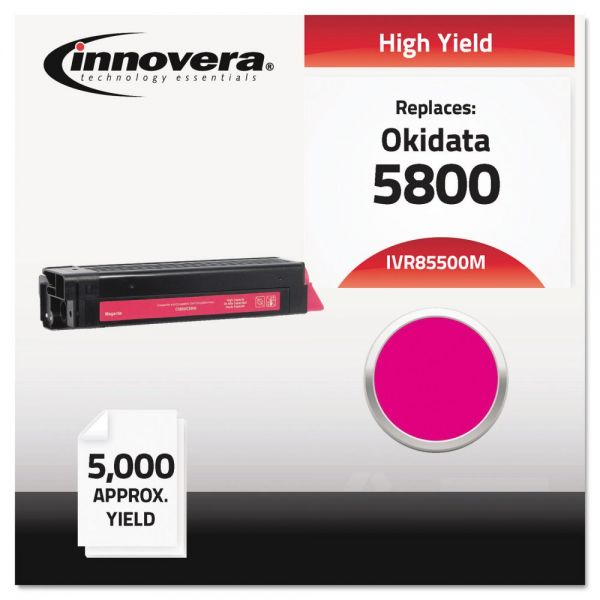 Innovera Remanufactured Okidata 5800 Magenta Toner Cartridge