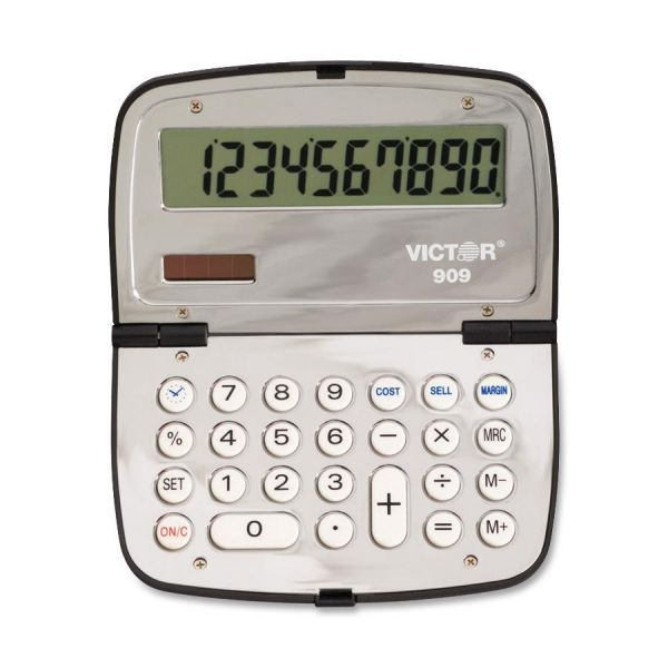 Victor 909 Handheld Compact Calculator