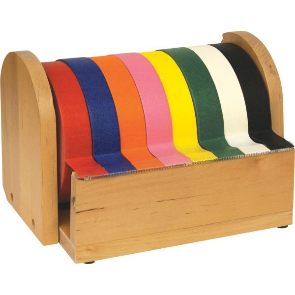 "ChenilleKraft 8 Roll 1"" Wide Tape Stand"