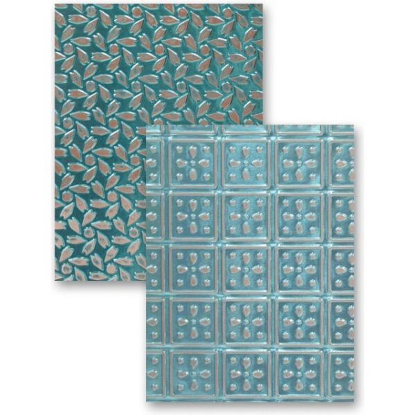 Spellbinders M-Bossabilities A4 Card Embossing Folder