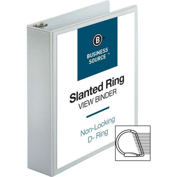 "Business Source 2"" 3-Ring View Binder"