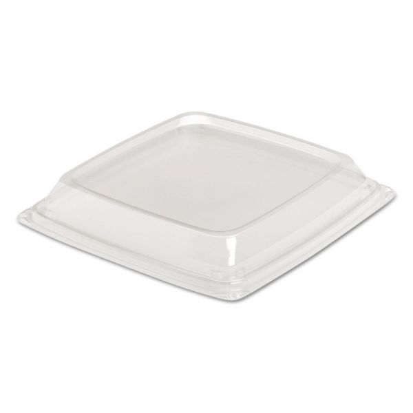 Dart Expressions HF Container Lids, Clear, 8.98w x 8.98d x 1.18h, 150/Carton