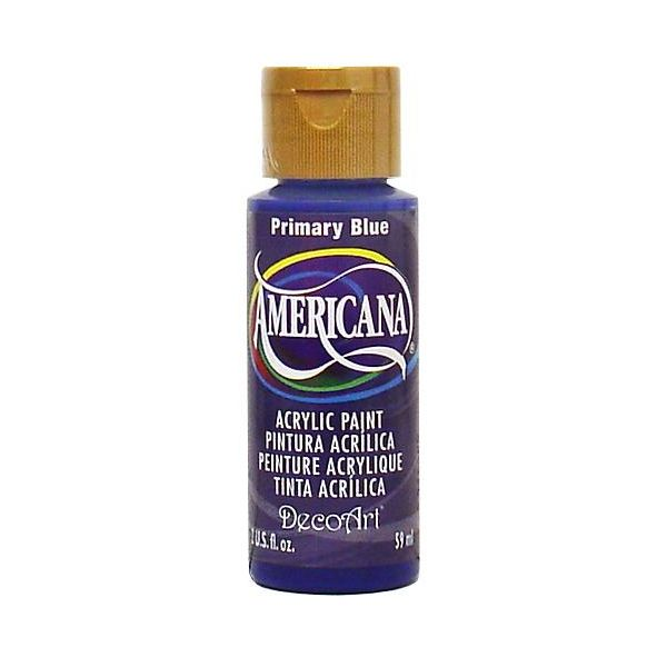 Deco Art Primary Blue Americana Acrylic Paint