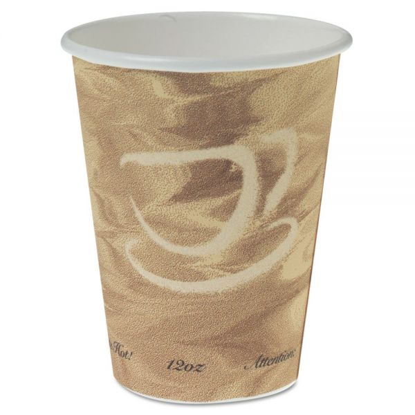 SOLO Mistique Polycoated 12 oz Paper Cups