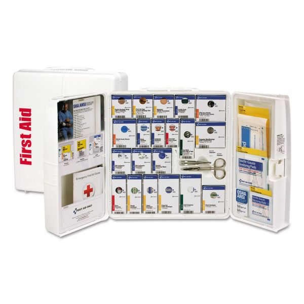 First Aid Only ANSI 2015 SmartCompliance First Aid Station, 50 People, 202 Pieces