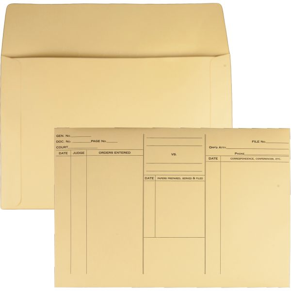 Quality Park Attorney's File-Style Booklet Envelopes