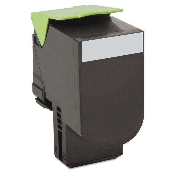 Lexmark 80C10K0 Black Return Program Toner Cartridge