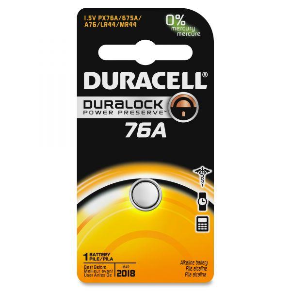 Duracell Alkaline Medical Battery, 76/675, 1.5V, 1/EA