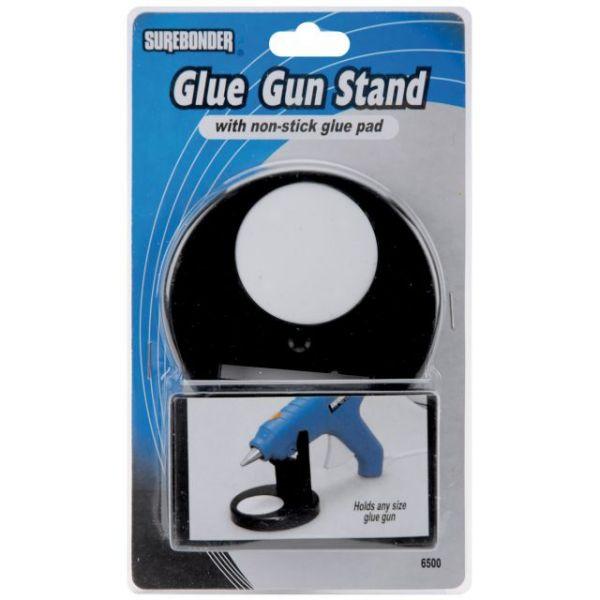 Glue Gun Stand W/Non-Stick Glue Pad