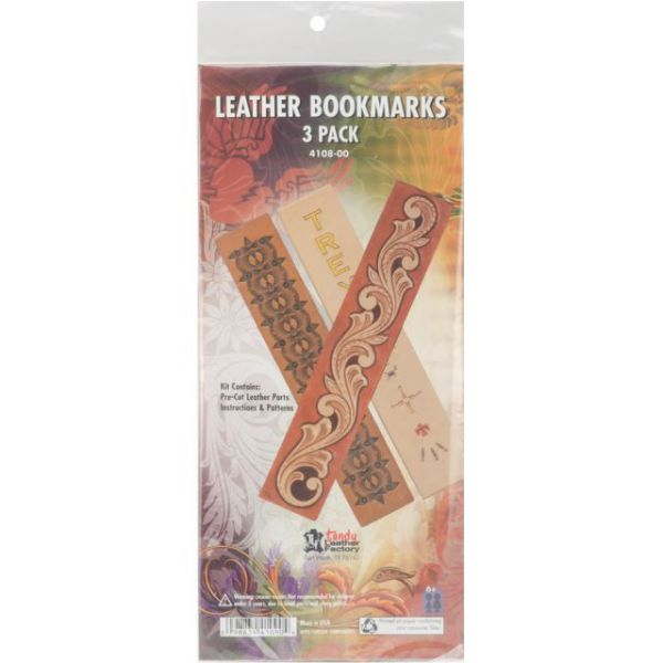 Leathercraft Bookmarks Quick Kits