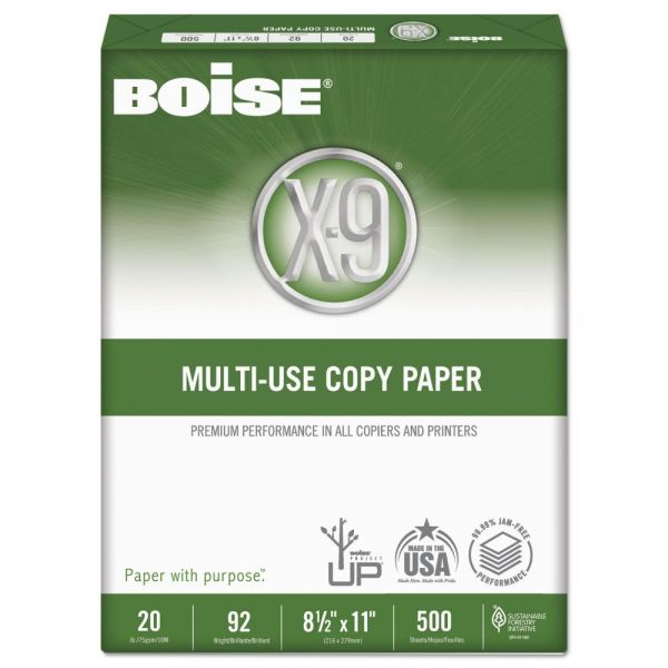 Boise X-9 White Multi-Use Copy Paper