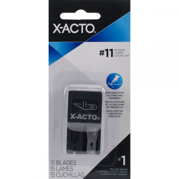 X-ACTO(R) #11 Refill Blades 15/Pkg
