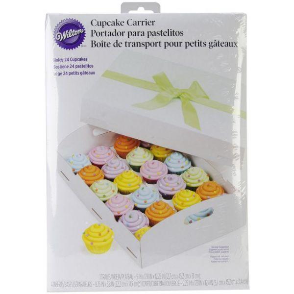 Cupcake Box Folding Tray