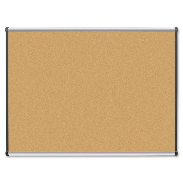 Lorell Satin Finish Natural Cork Bulletin Board