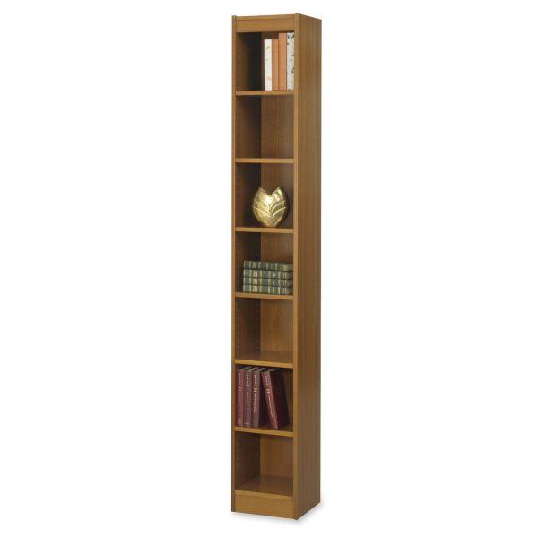 Safco Wood Veneer 7-Shelf Baby Bookcase