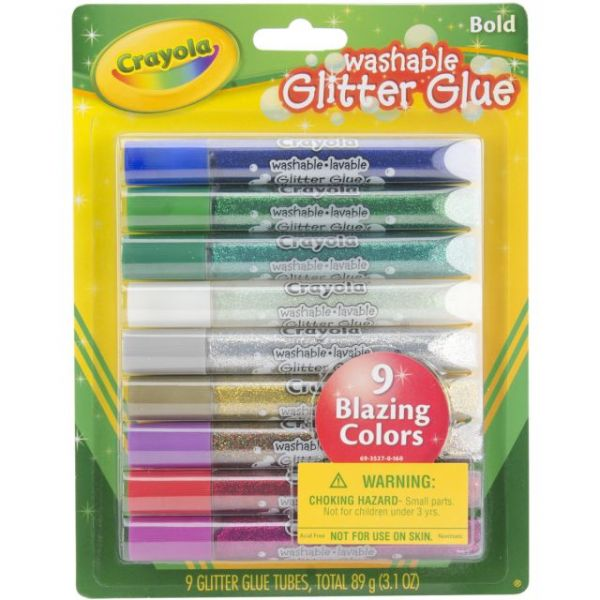 Crayola Washable Glitter Glue Pens