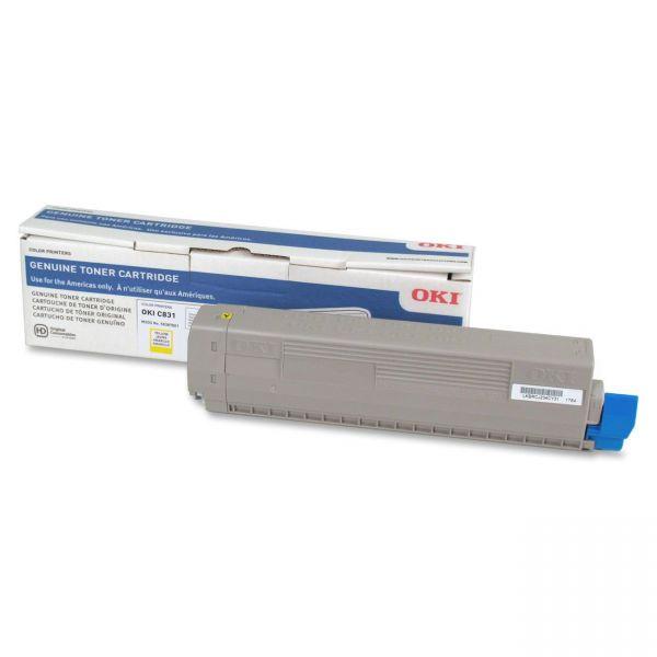 Oki 44844509 Yellow Toner Cartridge