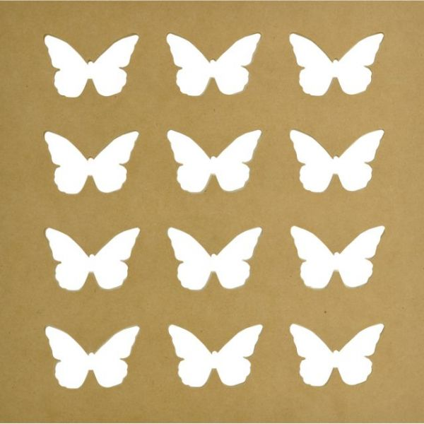 Beyond The Page MDF Butterflies Silhouette Wall Art Frame