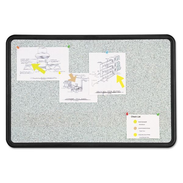 Quartet Contour Granite Bulletin Board