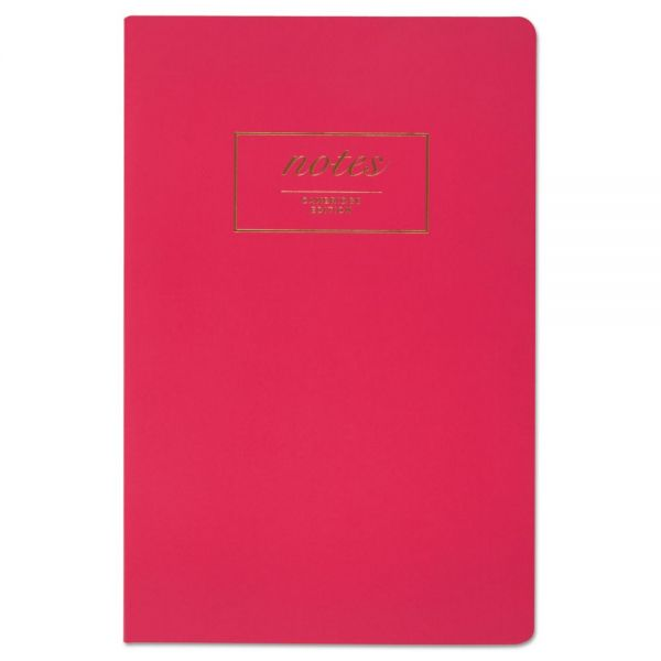 Cambridge Fashion Casebound Business Notebook, 8 1/2 x 5 1/2, Pink, 80 Sheets
