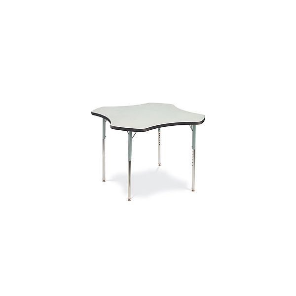 4000 Series Height Adjustable Clover Shaped Activity Table