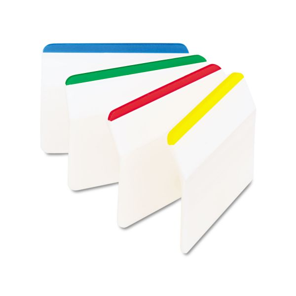 Post-it Durable Hanging File Folder Index Tabs