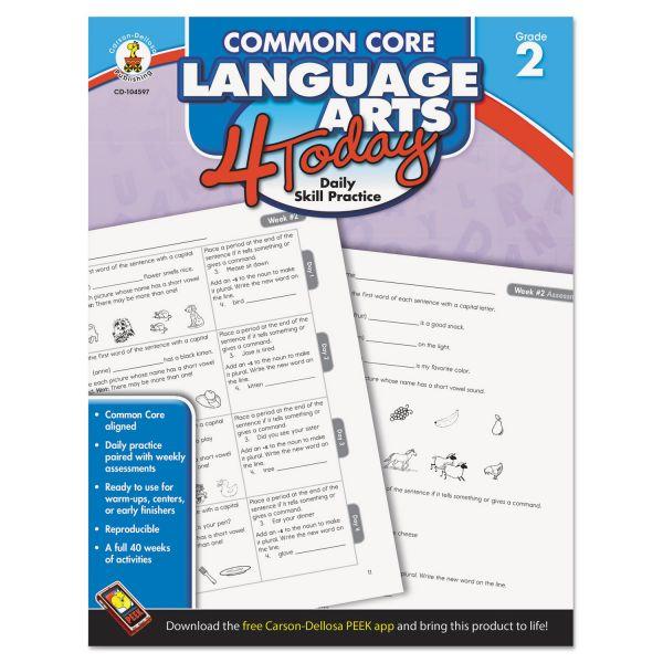 Common Core Language Arts 4 Today Workbook