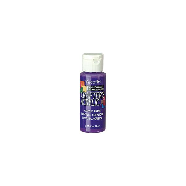 Deco Art Purple Passion Crafter's Acrylic Paint
