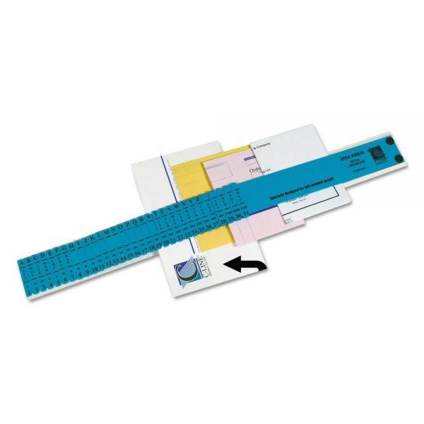 C-Line Left-Handed All-Purpose Sorter, 31 Dividers, Blue