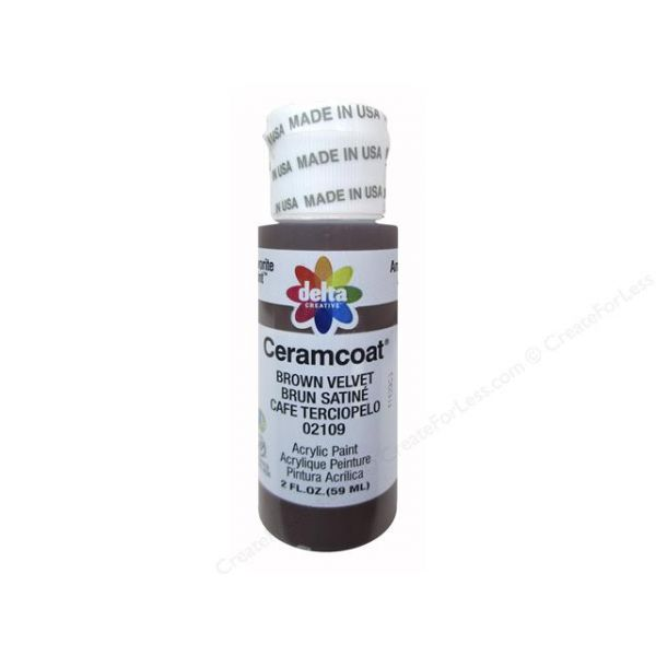 Ceramcoat Brown Velvet Acrylic Paint