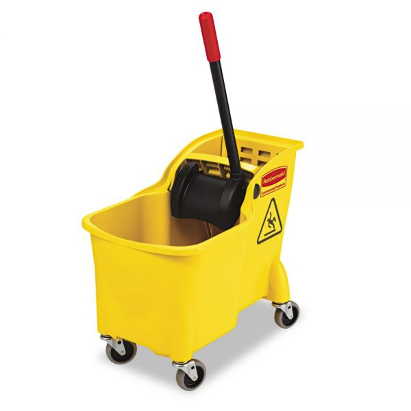 Rubbermaid Commercial Bucket with Wringer Combo