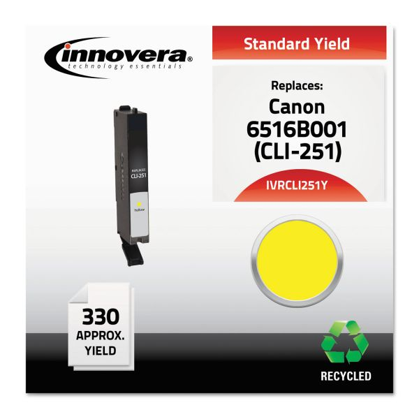 Innovera Remanufactured Canon CLI-251Y (6516B001) Ink Cartridge
