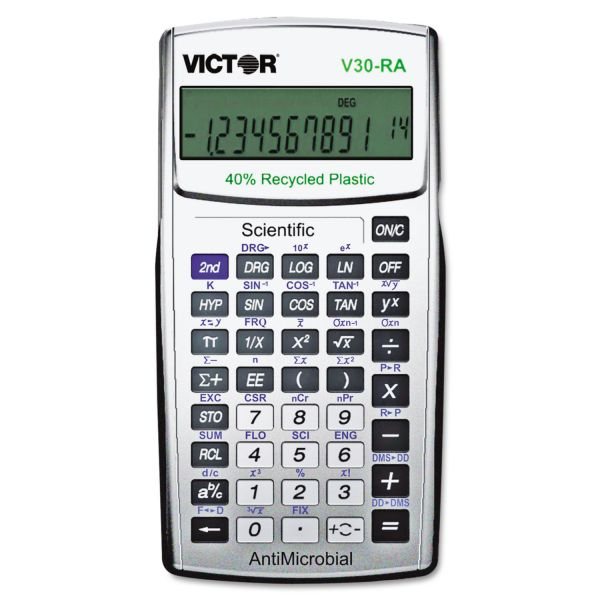 Victor V30-RA Antimicrobial Scientific Calculator