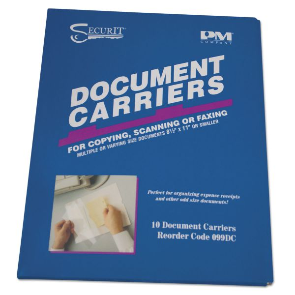 PM Company Fax Document Carriers