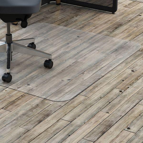 Lorell Rectangular Hard Floor Chair Mat