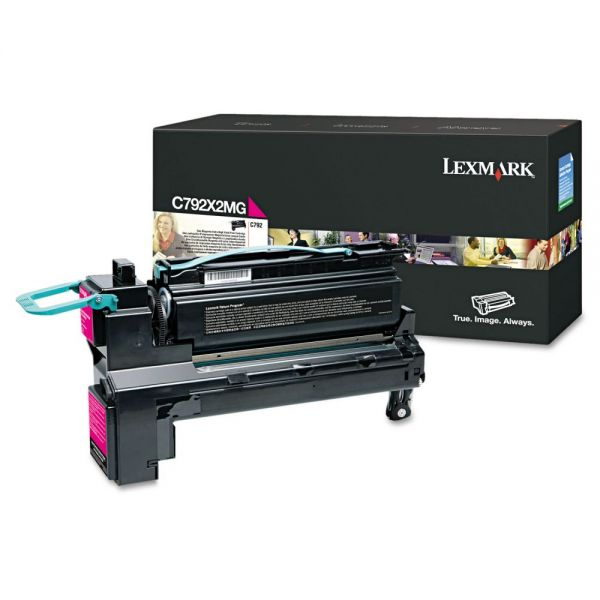Lexmark C792X2MG Extra High-Yield Toner Cartridge
