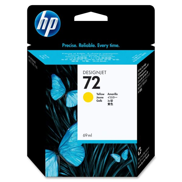 HP 72 Yellow Ink Cartridge (C9400A)