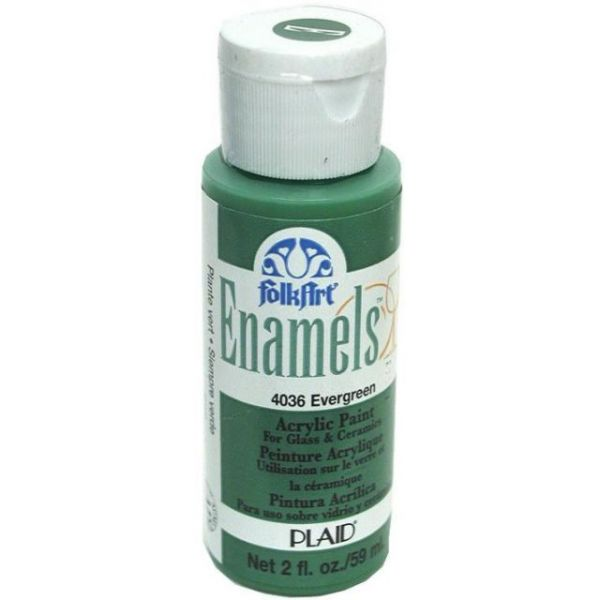 Folk Art Enamels Evergreen Acrylic Paint