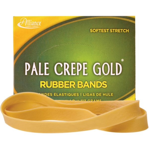 Pale Crepe Gold #107 Rubber Bands