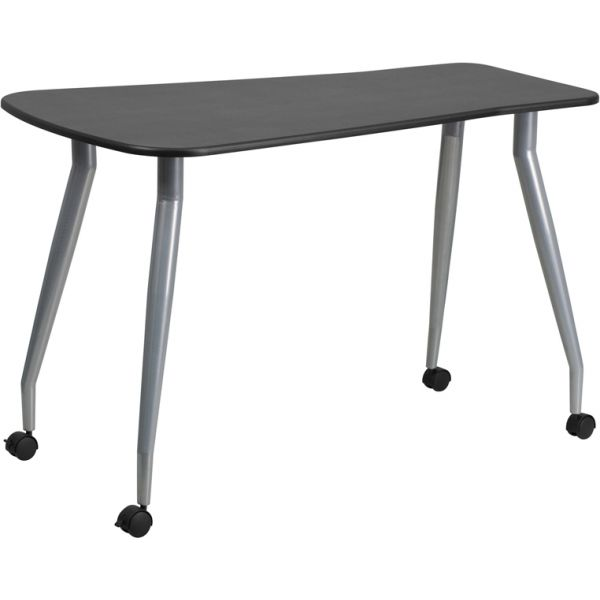 Flash Furniture Mobile Black Computer Desk