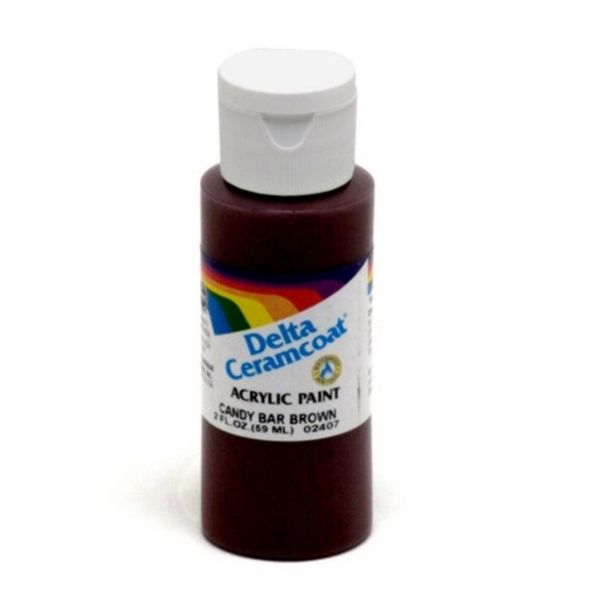Ceramcoat Candy Bar Brown Acrylic Paint