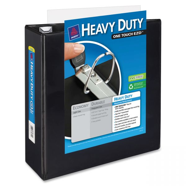 """Avery Heavy-Duty One Touch 4"""" 3-Ring View Binder"""