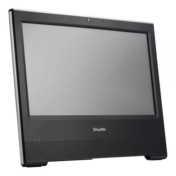 Shuttle X50V5 WHITE All-in-One Computer - Intel Celeron 3855U 1.60 GHz - Desktop - Black